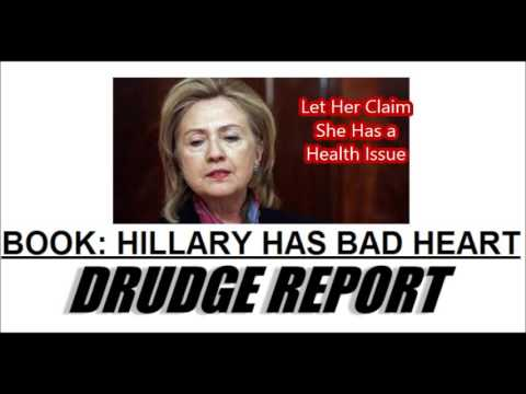 The Drudge Report Headlines Tell a Sad Clinton Story