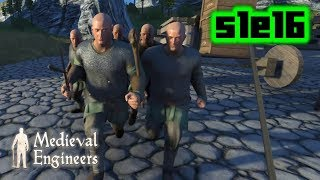 The Barbarian Horde   Medieval Engineers S1E16