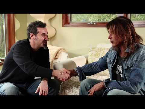 SERJ TANKIAN and GEORGE LYNCH discuss Indigenous Genocide and Human Rights