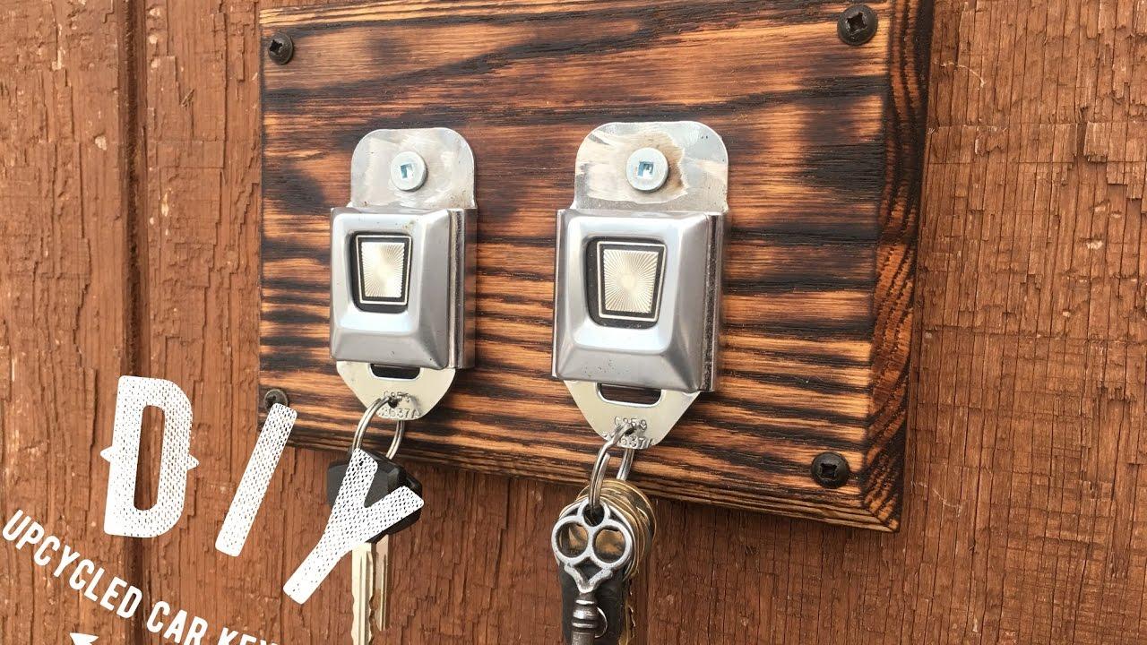 Diy Seatbelt Key Rack Diy Seatbelt Key