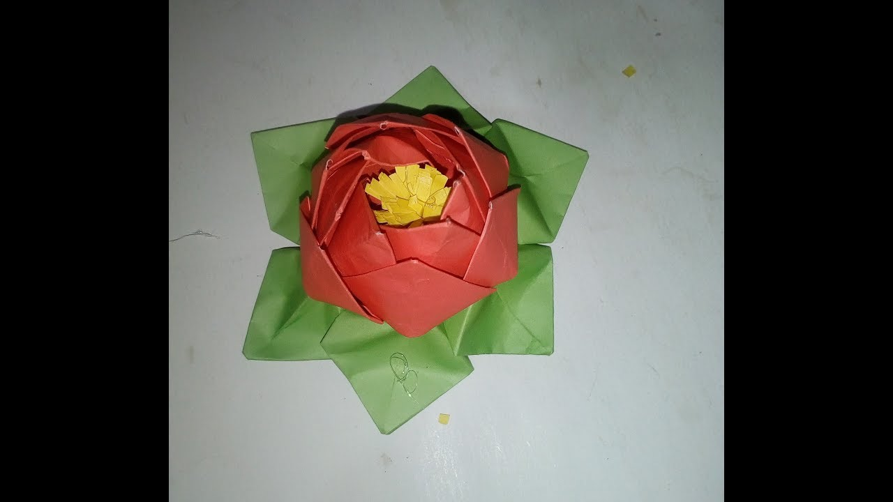 How to Make Amazing Origami Lotus | DIY Paper Crafts | Paper ... | 720x1280