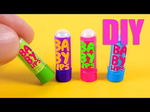 DIY miniature Baby Lips