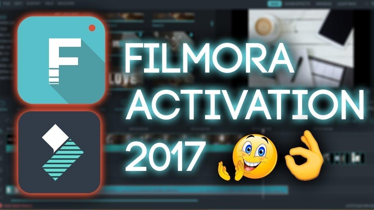 how to get free filmora account