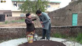 Dood Wala or Ishq | Shahzada Ghaffar | Pothwari Drama Funny clip | Gujjar funny video