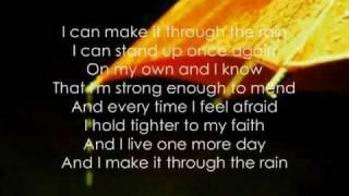 Make It Through The Rain Lyrics - Mariah Carey