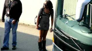 Bobbi Kristina Houston backstage in Stuttgart (Germany) on May 22nd, 2010 *EXCLUSIVE* [HQ]