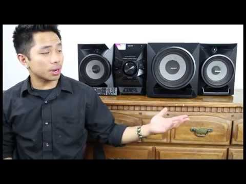 Sony 700w Stereo Review (MHCECL99BT)