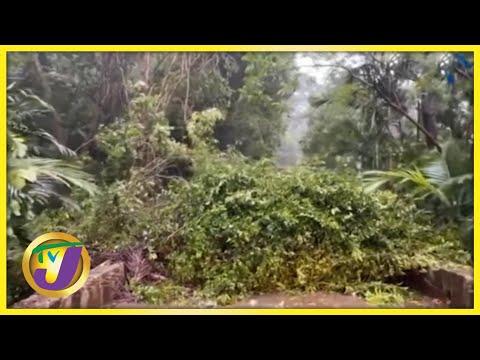 Tropical Storm Elsa Lashes Haiti & Dominica Republic   TVJ News - July 3 2021