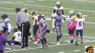 Motor City Wolverines vs. Eastside Raiders (C-Team) Game Highlights (10-31-2015)