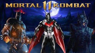 Mortal Kombat 11 - Batman & Superman Reference! Batman as DLC?!