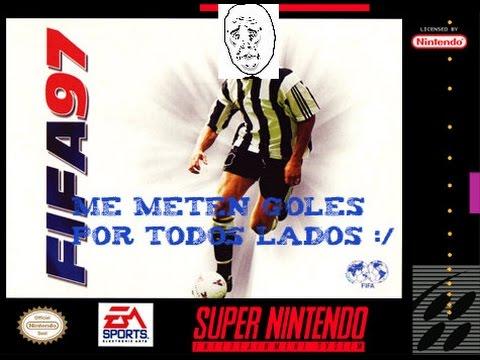 Fifa 97 /SNES/GAMEPLAY/Un Partido Dificil :/
