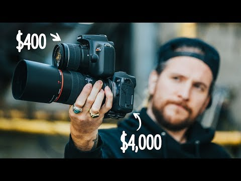 Can a Professional Photographer spot the difference? $400 Ca