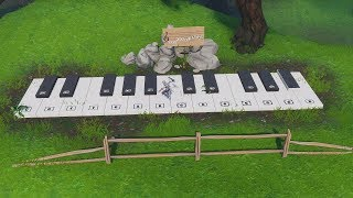 Fortnite 'Play the Sheet Music at the Piano near Lonely Lodge' WORKING GUIDE (Season 7 Challenges)