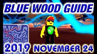 Lumber Tycoon 2 - BLUE WOOD - 2019 November 24