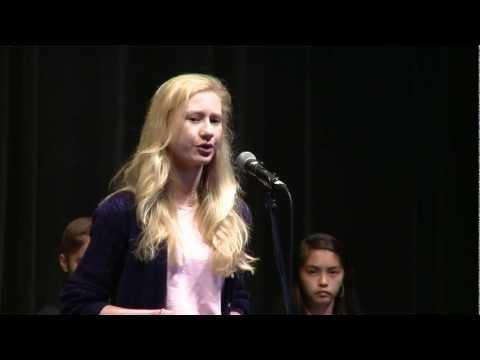 2013 Punahou School Damon Speech Contest Winners  (Punavision - March 2013)