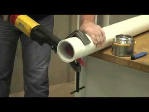 Plastic Pipe Cutting & Plastic Pipe Cutting - YouTube