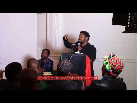 BLF Leader Andile  Mngxitama Delivering  #BikoLecture in Cape Town