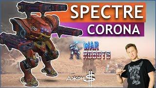 War Robots - Spectre на дробшах Corona Mk2!