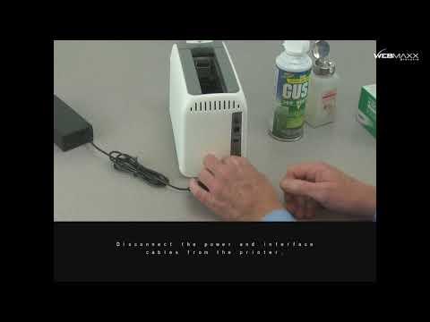 Zebra ZD510-HC tlačiareň ID pások - Všeobecné čistenie