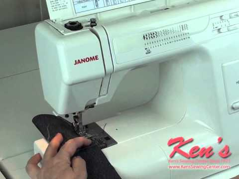 Janome HD40 Sewing Machine Review YouTube Inspiration Janome Hd3000 Sewing Machine