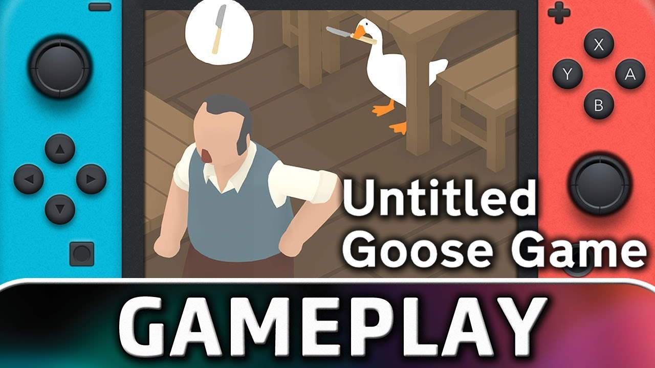 Untitled Goose Game | First 5 Minutes on Nintendo Switch