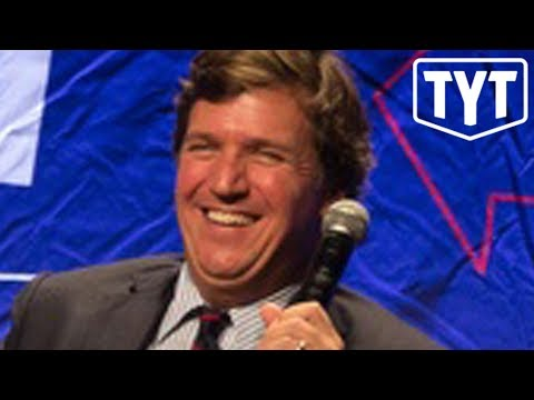 You Won't Believe What Tucker Carlson Said Backstage at Politicon