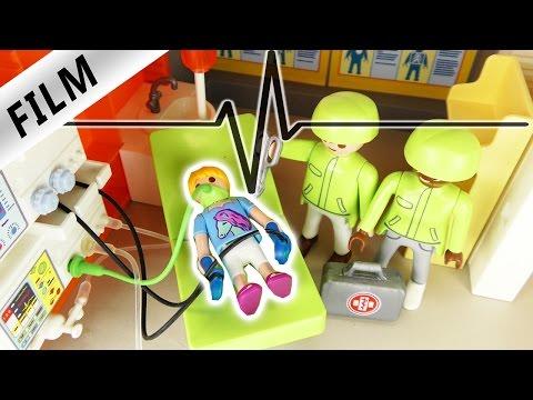 Playmobil Film deutsch | NOT OP? - HANNAH im KRANKENHAUS | Kinderserie Familie Vogel