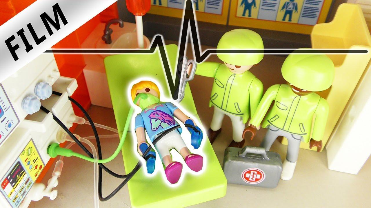 Playmobil Film Deutsch Not Op Hannah Im Krankenhaus