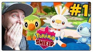 PREMIERA! POKEMON SHIELD - WYBIERAMY STARTERA! (Nintendo Switch)
