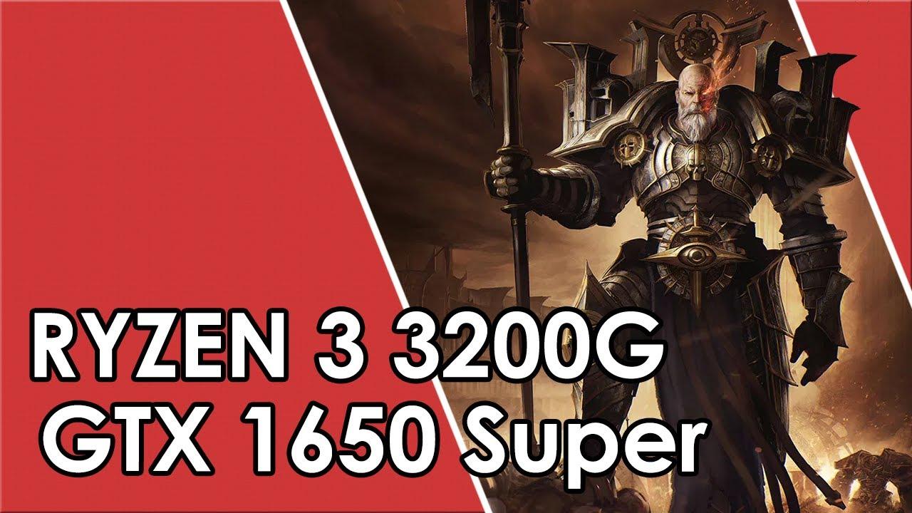 Ryzen 3 3200G + GTX 1650 Super // Test in 11 Games