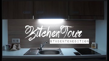 Meine Küche im Studentenwohnheim (realistisch) + gesundes Abendessen | Campus Gardens Heidelberg