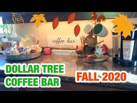 ☕️🍂 DOLLAR TREE COFFEE BAR FALL 2020 🍁☕️