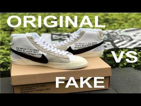 cheap for discount daba1 b3b84 THE 10 NIKE Blazer Studio Mid X Off-White Original VS Fake