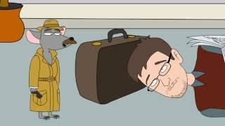 Будні Е. Сноудена в аеропорту - Гумор. Смішний мультик.