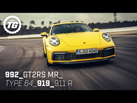 Chris Harris drives… Best of Porsche: GT2 RS, 992, 911 R, 919, Type 64 | Top Gear