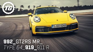 Chris Harris drives... Best of Porsche: GT2 RS, 992, 911 R, 919, Type 64 | Top Gear