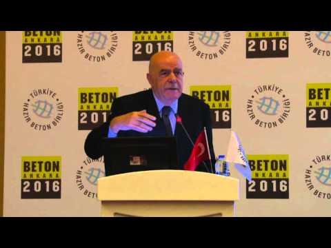 İstanbul Teknik Üniversitesi İnşaat Fakültesi Eski Dekanı Prof. Dr. Mehmet Ali Taşdemir'in sunumu