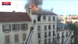 Saint-Denis: cinq morts dans l'incendie d'un immeuble