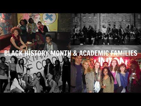 EDINBURGH UNI VLOG #6: BLACK HISTORY MONTH & ACADEMIC FAMILIES | HADDY JENG