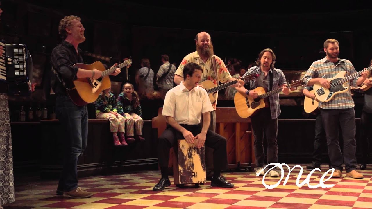 Once Musical Celebrates 1 000th Performance With Glen Hansard Youtube