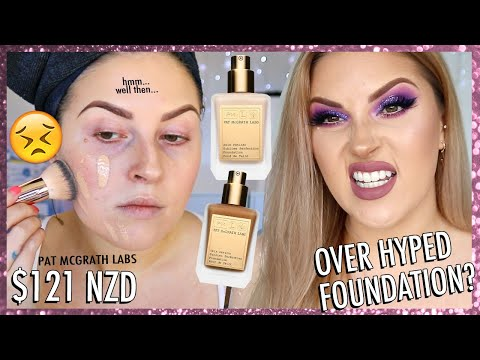 $121 FOUNDATION?! r u joking 😂 wear test & first impression thumbnail