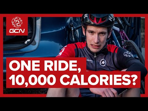 Can You Burn 10,000 Calories In One Ride? | The 10,000 Calorie Challenge