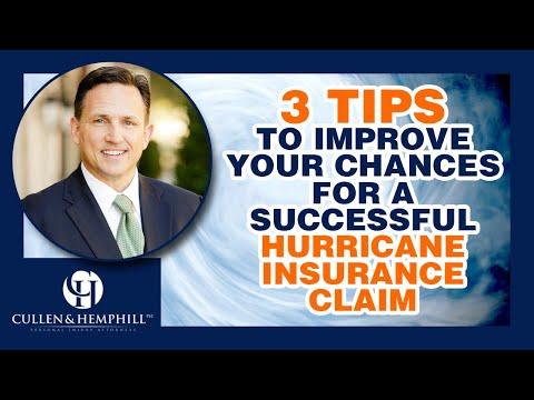3 Tips To Improve Your Chances For A Successful Hurricane Insurance Claim In Florida