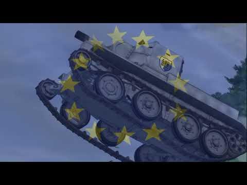 Girls Und Panzer - AMV - Kuro/Anzio/BC/Jatkosota - Europa Unita