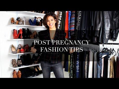 Post Pregnancy Fashion Tips