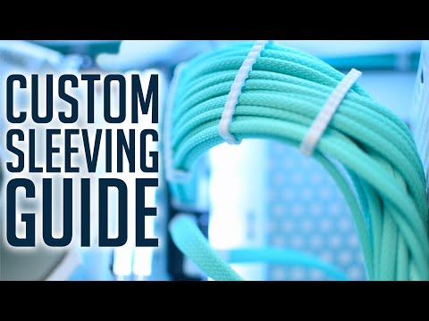 CUSTOM SLEEVING TUTORIAL | How I Make Custom Cables
