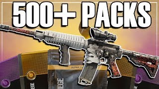 Opening 500+ Alpha Packs (Largest Pack Opening Ever) - Rainbow Six Siege