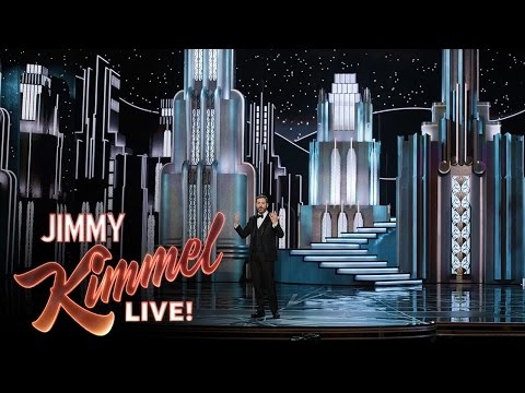 Thumbnail: Jimmy Kimmel on Oscars Set Collapse