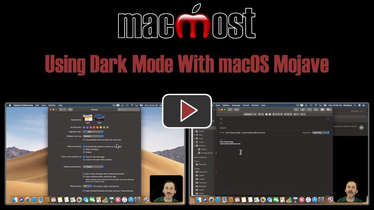 Using Dark Mode With macOS Mojave (#1756)