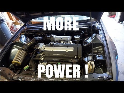 B20VTEC GETS NEW INTAKE MANIFOLD AND THROTTLE BODY !  HSG EP. 5-49
